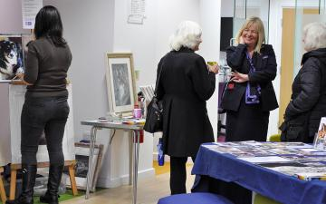 Art Event at Colchester Branch