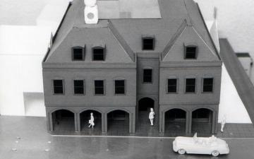 Model of Saffron House
