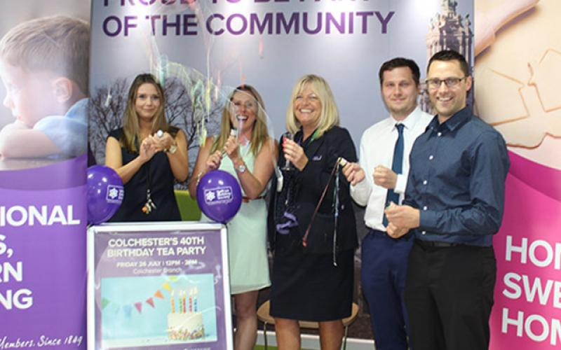 Saffron Building Society Celebrates 40 Years at Colchester