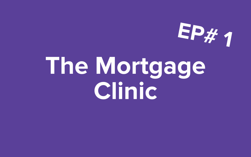 Image of text of 'The Mortgage Clinic'